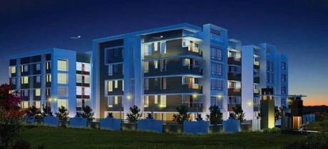 1124 sqft, 2 bhk Apartment in Aryan Banyan Courtyard Patrapada, Bhubaneswar at Rs. 37.3859 Lacs