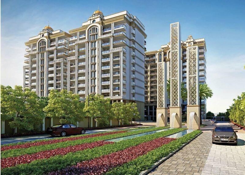 2495 Sqft, 4 Bhk Apartment In Exotic Grandeur Sector 19, Zirakpur At Rs.