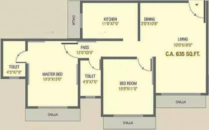 825 sqft, 2 bhk Apartment in Chaitanya Jeevan Kanchan CHSL Jogeshwari West, Mumbai at Rs. 2.5000 Cr