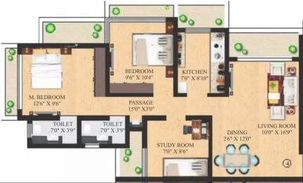 1250 sqft, 2 bhk Apartment in Neminath Imperia Andheri West, Mumbai at Rs. 2.0500 Cr