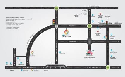 1350 sqft, Plot in Builder Techtown on Aerocity Road Zirakpur, Mohali at Rs. 44.2500 Lacs
