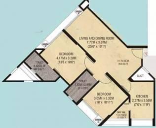 975 sqft, 2 bhk Apartment in Godrej Garden Enclave Vikhroli, Mumbai at Rs. 55000