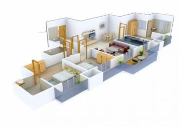 1725 sqft, 3 bhk Apartment in Neelam Senroof Nahur East, Mumbai at Rs. 51000