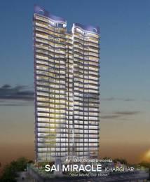 1712 sqft, 3 bhk Apartment in Paradise Sai Miracle Kharghar, Mumbai at Rs. 20000