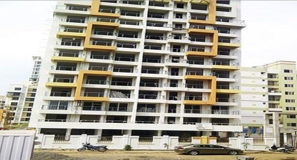 950 sqft 2 bhk Apartment Hi Tech Ultra The Blue Crest Exterior