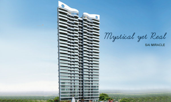 1265 sqft, 2 bhk Apartment in Paradise Sai Miracle Kharghar, Mumbai at Rs. 20000