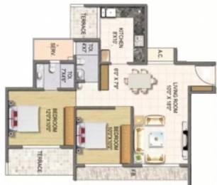 1100 sqft, 2 bhk Apartment in Keystone Elita Kharghar, Mumbai at Rs. 1.5000 Cr