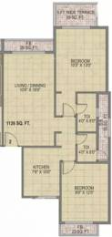 1126 sqft, 2 bhk Apartment in Monarch Ambience Kharghar, Mumbai at Rs. 1.0500 Cr