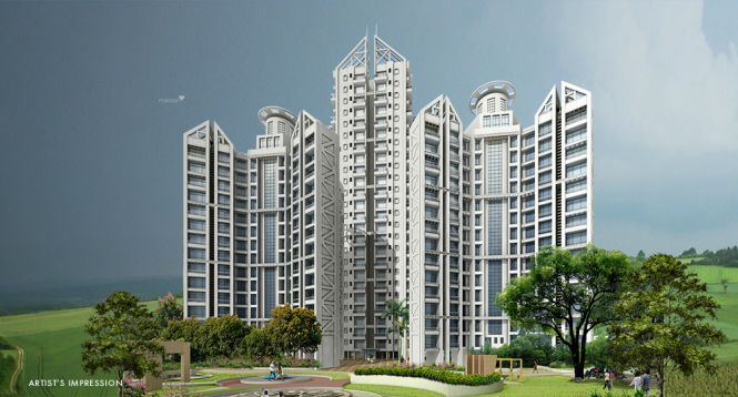 1300 sqft, 2 bhk Apartment in Concrete Sai Saakshaat Kharghar, Mumbai at Rs. 1.3000 Cr