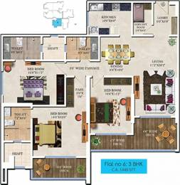 1882 sqft, 3 bhk Apartment in Bharat Skyvistas Andheri West, Mumbai at Rs. 1.3000 Lacs