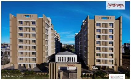 1038 sqft, 3 bhk Apartment in Samraat Symphony Project 02 Indira Nagar, Nashik at Rs. 44.0000 Lacs