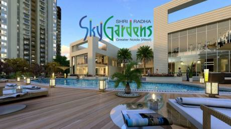 1286 sqft, 2 bhk Apartment in Shri Radha Sky Gardens Sector-16 B Gr Noida, Greater Noida at Rs. 46.0000 Lacs