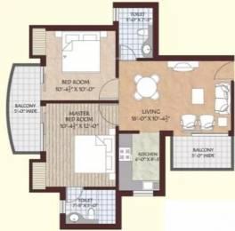 930 sqft, 2 bhk Apartment in Shree Gardenia Sector 10, Sonepat at Rs. 25.2800 Lacs