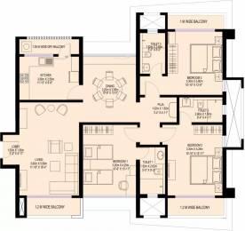 1667 sqft, 3 bhk Apartment in Sea Gundecha Trillium Kandivali East, Mumbai at Rs. 3.3000 Cr