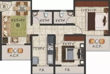 930 sqft, 2 bhk Apartment in Mohan Palms Badlapur East, Mumbai at Rs. 42.0000 Lacs