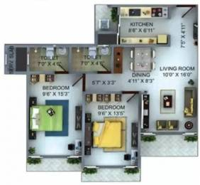 1150 sqft, 2 bhk Apartment in Bharat Belmonte Jogeshwari West, Mumbai at Rs. 2.2500 Cr