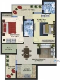 1310 sqft, 2 bhk Apartment in Omni Amayra Greens Daun Majra, Mohali at Rs. 27.2500 Lacs