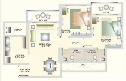 999 sqft, 2 bhk Apartment in DB Orchid Suburbia Kandivali West, Mumbai at Rs. 1.8500 Cr
