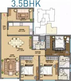 1850 sqft, 3 bhk Apartment in Bharat Optimus Malad West, Mumbai at Rs. 3.6000 Cr