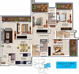 2359 sqft, 4 bhk Apartment in Bharat Skyvistas Andheri West, Mumbai at Rs. 1.6000 Lacs
