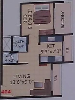 630 sqft, 1 bhk Apartment in Payal Heights Taloja, Mumbai at Rs. 32.0000 Lacs