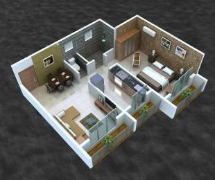 585 sqft, 1 bhk Apartment in Choice Ambe Smruti Rasayani, Mumbai at Rs. 5500
