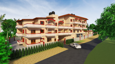 1163 sqft, 1 bhk Apartment in Builder mother agnes and anarita residency socorro goa Socorro, Goa at Rs. 53.1960 Lacs