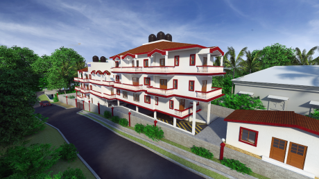 1073 sqft, 2 bhk Apartment in Builder Mother Agnes and Anrita Residency Donwaddo Salvador Do Mundo Bardez, Goa at Rs. 55.3724 Lacs