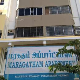 1200 sqft, 2 bhk Apartment in Builder Maragatham Apartments Sithananda Nagar Thanthai Periyar Nagar, Pondicherry at Rs. 22000