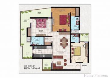 1827 sqft, 3 bhk Apartment in Golden Apartments Dhakoli, Zirakpur at Rs. 59.5000 Lacs
