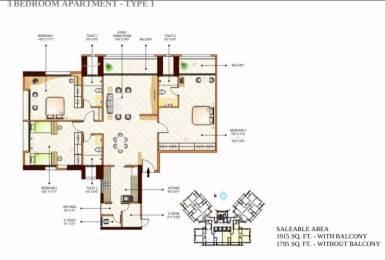 1915 sqft, 3 bhk Apartment in Peninsula Ashok Towers Parel, Mumbai at Rs. 9.2500 Cr