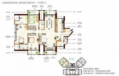 2285 sqft, 3 bhk Apartment in Peninsula Ashok Towers Parel, Mumbai at Rs. 10.0000 Cr