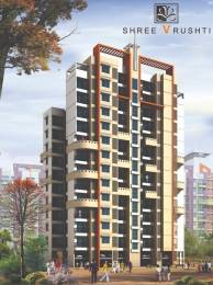 839 sqft, 2 bhk Apartment in Shree Shree Vrushti Thane West, Mumbai at Rs. 74.0200 Lacs