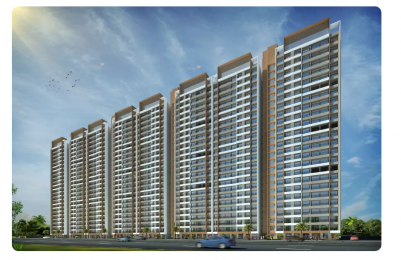 1386 sqft, 3 bhk Apartment in JP North Phase 3 Estella Mira Road East, Mumbai at Rs. 1.0401 Cr