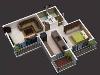 810 sqft, 1 bhk Apartment in Bhumiraj Hills Belapur, Mumbai at Rs. 1.0000 Cr