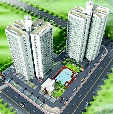 1075 sqft, 2 bhk Apartment in Arihant Abhilasha Kharghar, Mumbai at Rs. 95.0000 Lacs