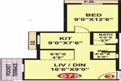 675 sqft, 1 bhk Apartment in Shiv Yashwant Empire Nala Sopara, Mumbai at Rs. 33.0000 Lacs