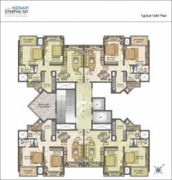 1100 sqft, 2 bhk Apartment in Kesar Symphony Kharghar, Mumbai at Rs. 1.1000 Cr