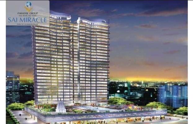 1225 sqft, 2 bhk Apartment in Paradise Sai Miracle Kharghar, Mumbai at Rs. 20000