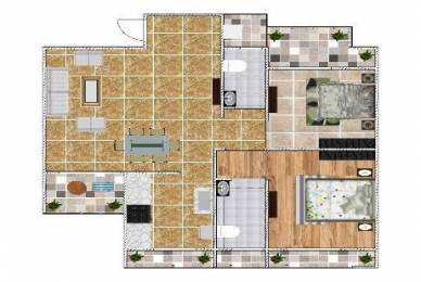 1150 sqft, 2 bhk Apartment in Vub Paradise Kharghar, Mumbai at Rs. 78.5000 Lacs