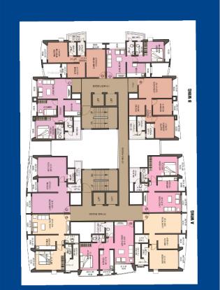 1065 sqft, 2 bhk Apartment in Natasha Enclave Thane West, Mumbai at Rs. 91.0000 Lacs