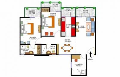 1360 sqft, 2 bhk Apartment in Rishabh Paradise Ahinsa Khand 2, Ghaziabad at Rs. 60.0000 Lacs