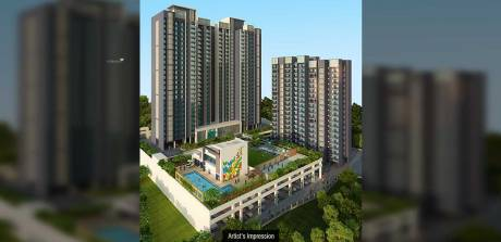 1200 sqft, 3 bhk Apartment in Dosti Desire Thane West, Mumbai at Rs. 1.2600 Cr