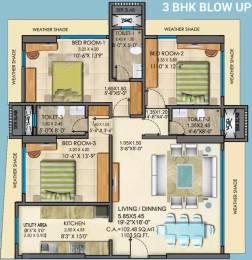 1765 sqft, 3 bhk Apartment in Mayfair Greens Kandivali West, Mumbai at Rs. 3.2000 Cr