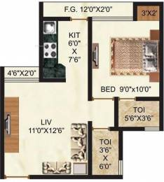 550 sqft, 1 bhk Apartment in Rashmi Pink City Naigaon East, Mumbai at Rs. 22.5000 Lacs