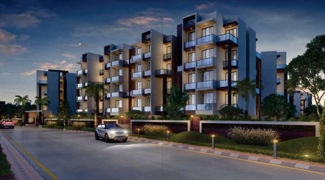 647 sqft, 1 bhk Apartment in Space Sai Prasad Gardens Panvel, Mumbai at Rs. 26.5270 Lacs