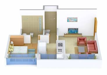 700 sqft, 1 bhk Apartment in Evershine Homes Virar, Mumbai at Rs. 30.0000 Lacs