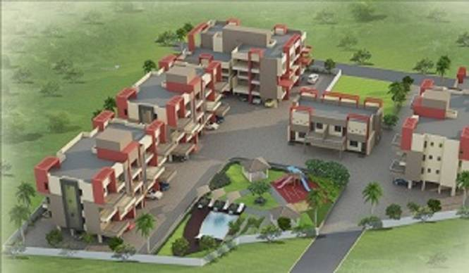 1215 sqft, 2 bhk Apartment in Karda Hari Sagar Deolali Gaon, Nashik at Rs. 54.6872 Lacs
