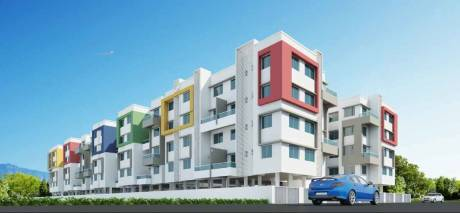 860 sqft, 2 bhk Apartment in Builder Karda Constructions Hari Krishna 4artillery centre road Nashik Nasik Road, Nashik at Rs. 30.1086 Lacs
