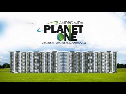 1580 sqft, 3 bhk Apartment in Andromida Planet One Indraprastha Yojna, Ghaziabad at Rs. 44.7889 Lacs